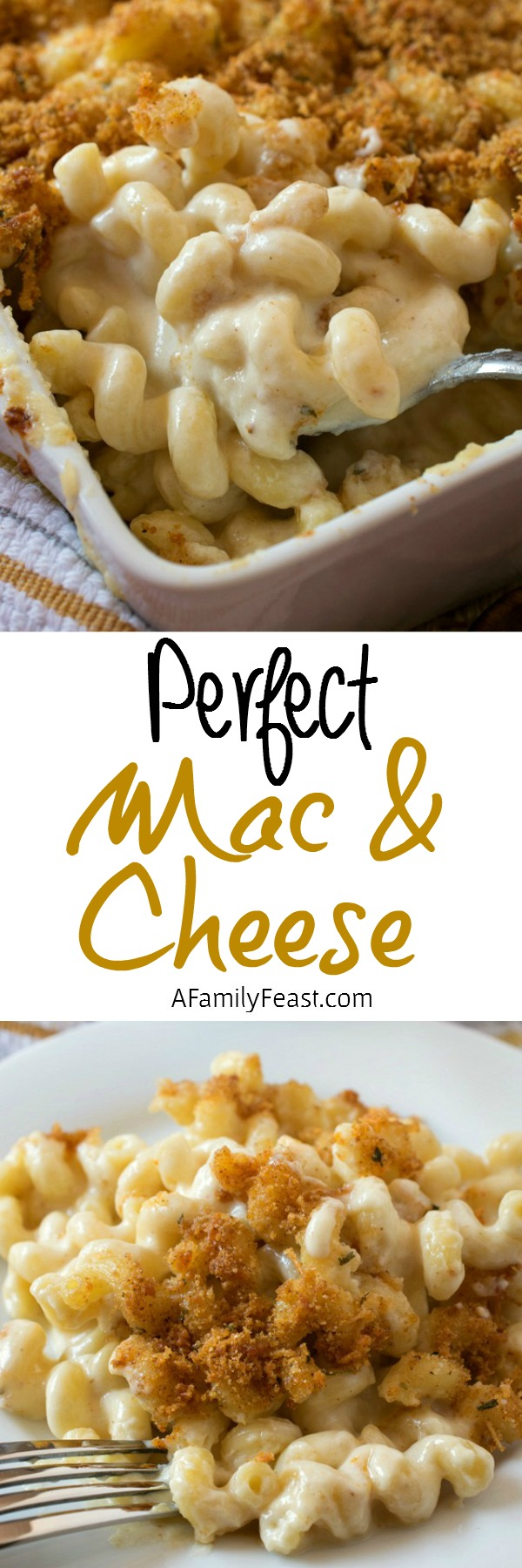 We share all of the secrets to making Perfect Macaroni and Cheese!  Easy and delicious!