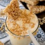 Marshmallow Crisp Milkshake - A Family Feast