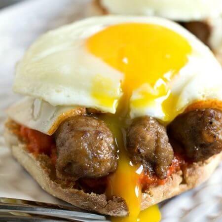 Pepper Pig Breakfast Sandwich - A Family Feast