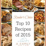 A Family Feast: Top 10 Recipes of 2015