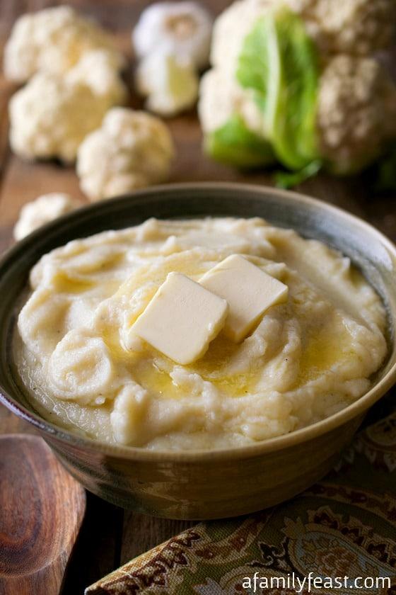 Cauliflower Purée - A Family Feast