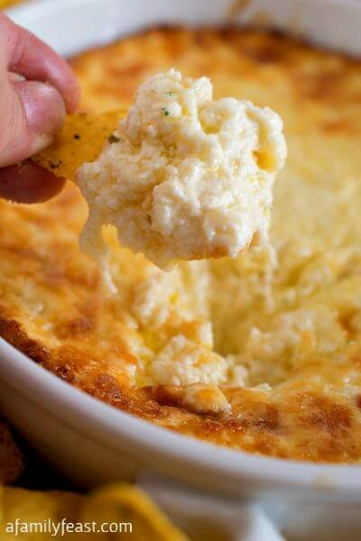 Easy Zesty Cheese Dip - A Family Feast