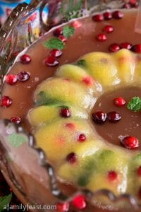 Festive Pineapple Cranberry Punch - A Family Feast
