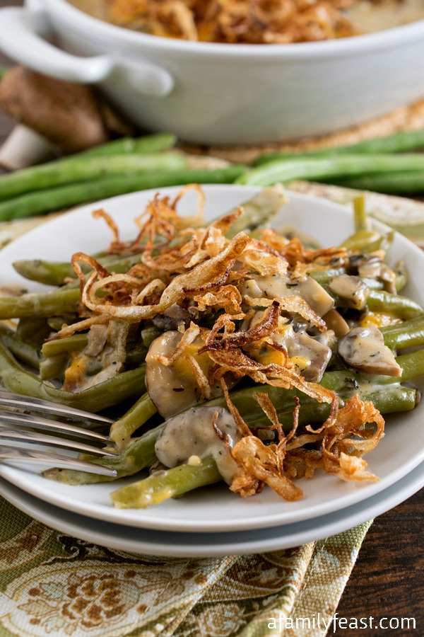 Green Bean Casserole - A Family Feast