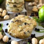 Pistachio Lemon Lime Shortbread Cookies