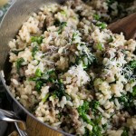 Sausage and Broccoli Rabe Risotto