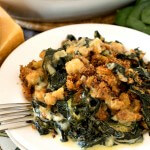Spinach and Kale Gratin