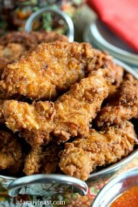 Chai Coconut Chicken Strips - A Family Feast