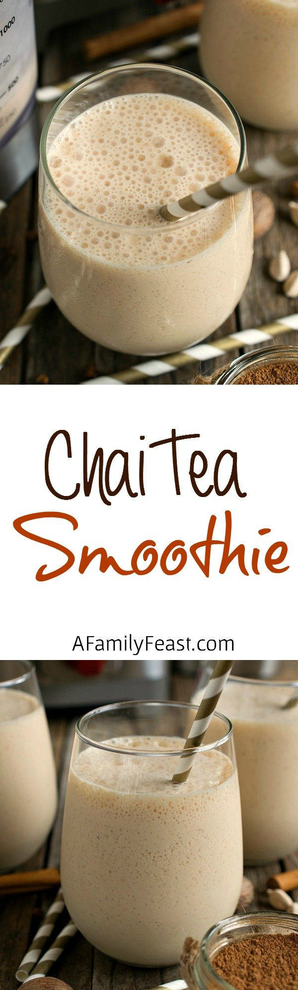 Chai Tea Smoothie - A Family Feast