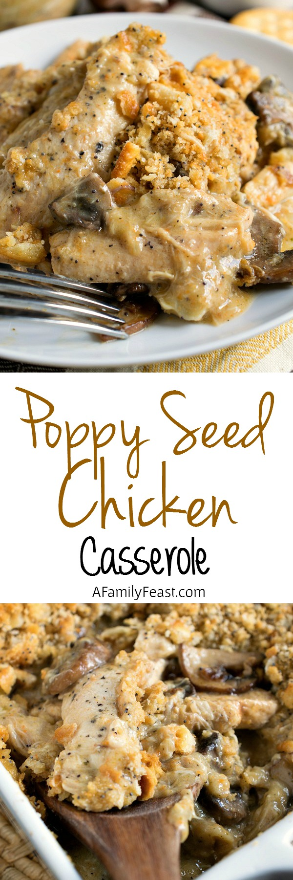 Poppy Seed Chicken - Classic comfort food made even better thanks to our homemade sauce!