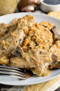 Poppy Seed Chicken - A Family Feast