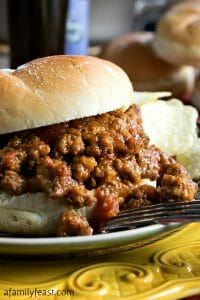 Sloppy Tom Sandwich - A Family Feast