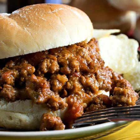 Sloppy Tom Sandwich - A Family Feast