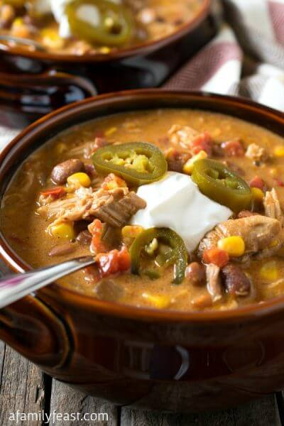 Slow Cooker Tex-Mex Chicken Stew - A Family Feast