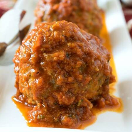 Stuffed Meatballs - A Family Feast