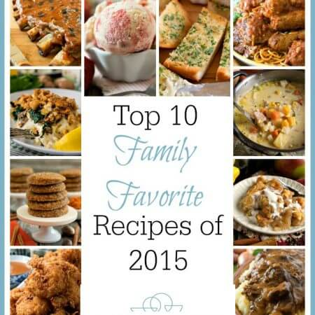 A Family Feast: Top 10 Family Favorite 2015