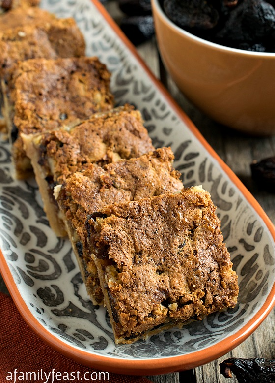 Fig Bar Cookies - A Family Feast