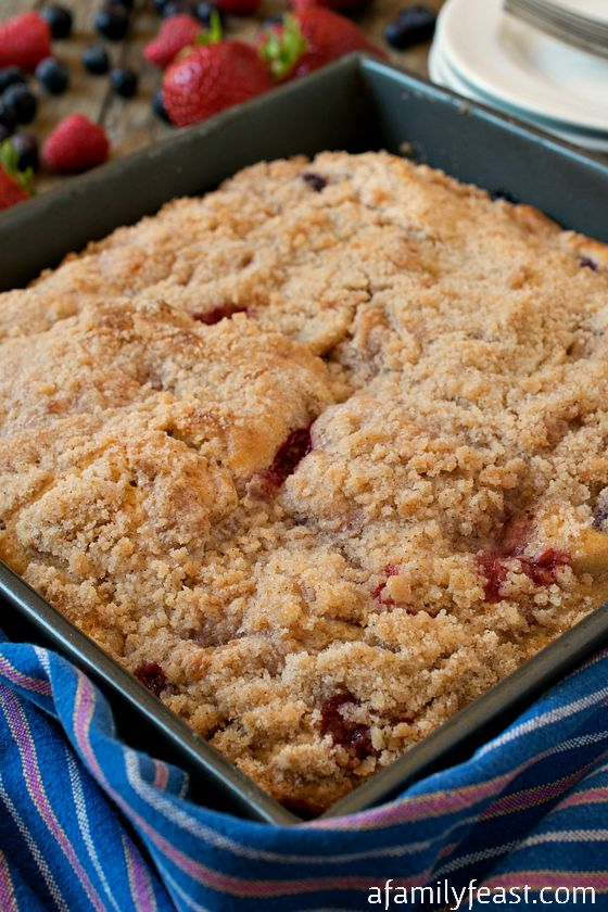 Mixed Berry Buckle - A Family Feast