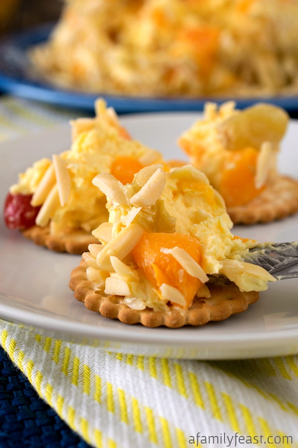 Fruit and Cheese Ball - A Family Feast