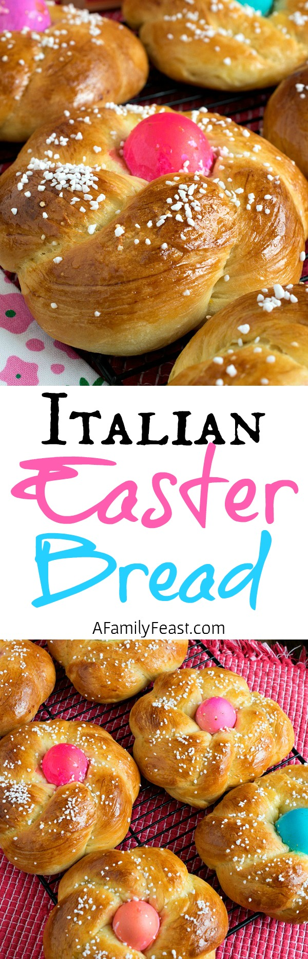 Italian Easter Bread (also known as Pane di Pasqua) is a traditional bread made for the Easter holiday. Delicious!
