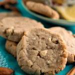 Lemon Almond Tea Cookies