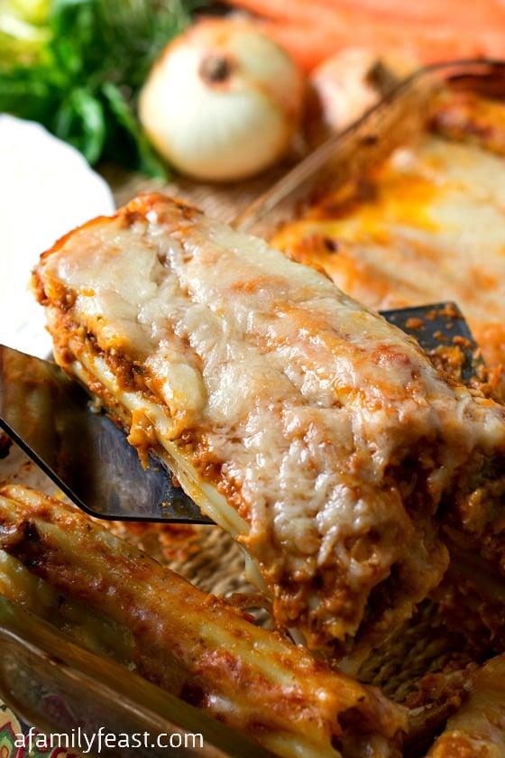 vasto assortimento migliore vendita sconto del 50 Meat Lovers Manicotti Stracotto-Style