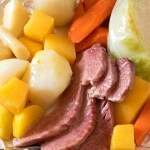 New England Boiled Dinner (Corned Beef and Cabbage) - A Family Feast