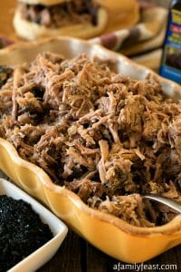 Slow Cooker Kalua Pulled Pork - A Family Feast