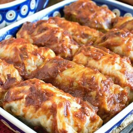 Whole30 Stuffed Cabbage - A Family Feast