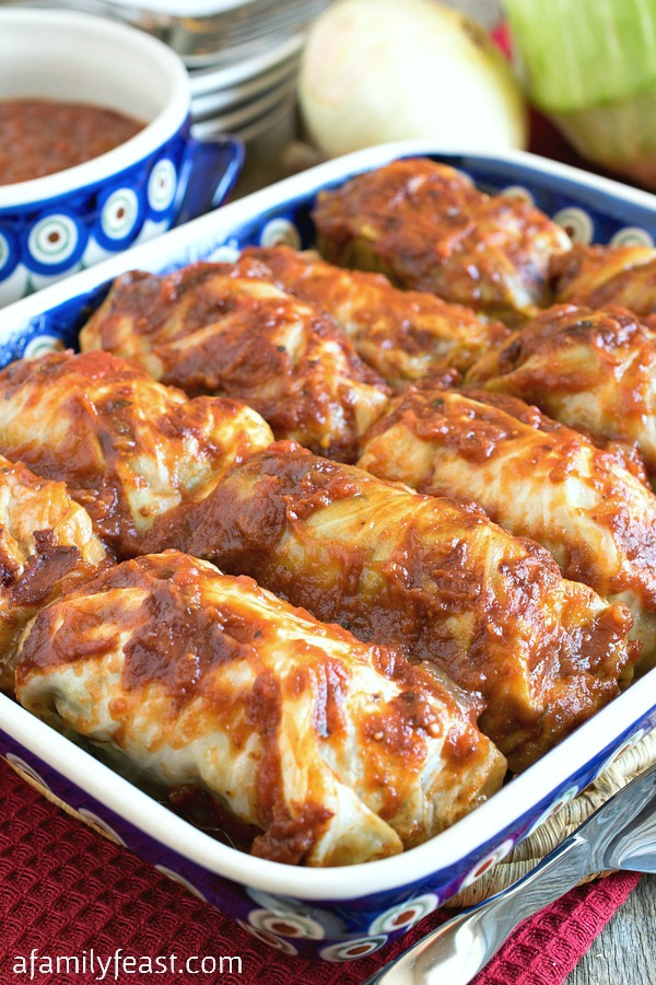 Whole30 Stuffed Cabbage A Family Feast