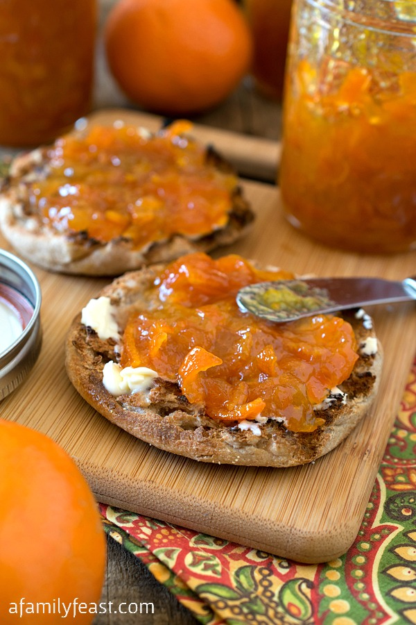 Mandarin Marmalade - A Family Feast