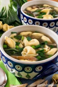Easy Tortellini Soup - A Family Feast