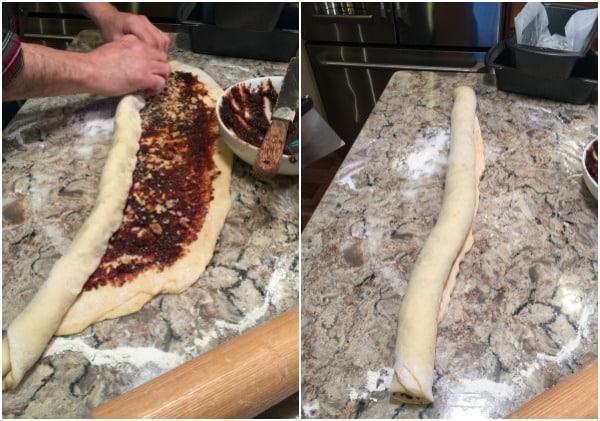 Cinnamon Raisin Swirl Babka - A Family Feast