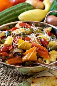 Garden Vegetable Ratatouille - A Family Feast