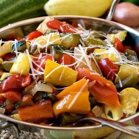 Garden Vegetable Ratatouille - A Family Feast