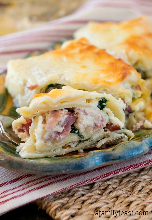 Italian Cold Cut Lasagna Rollups - A Family Feast