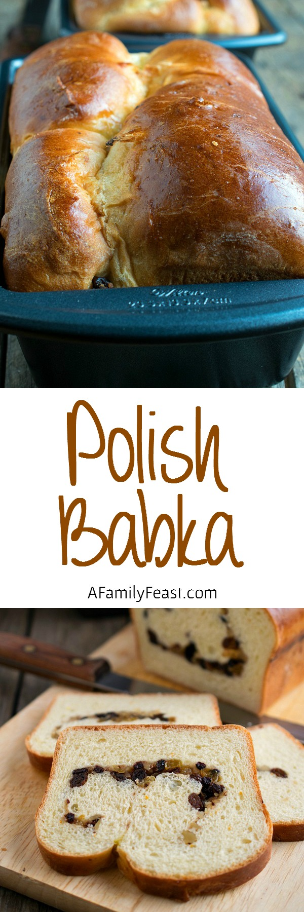 Polish Babka - A traditional bread served on Easter morning.