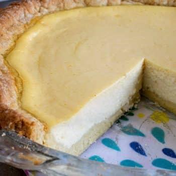 Italian Ricotta Pie - A Family Feast