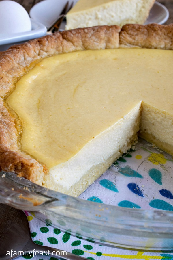 This 100+ year old recipe for Italian Ricotta Pie has been passed down through generations. Perfectly sweet with great flavors - a slice of Italy!