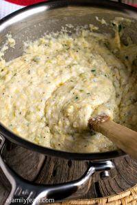 Savory Soft Polenta - A Family Feast
