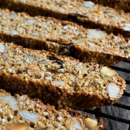 Steel Cut Oats Breakfast Biscotti - A Family Feast