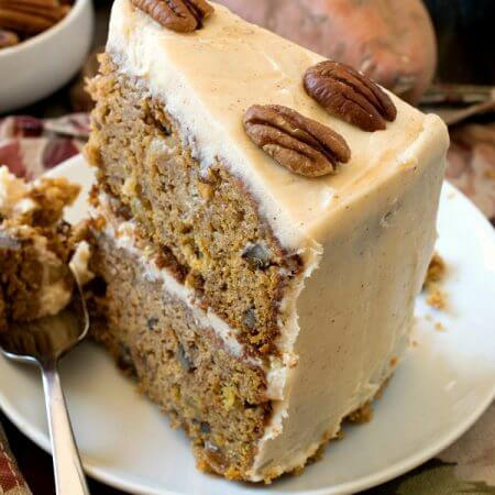 Sweet Potato and Apple Cake - A Family Feast
