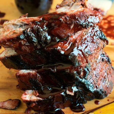 Asian Barbecue Pork Ribs - A Family Feast