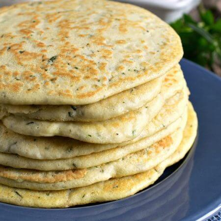 Gluten Free Flat Bread - A Family Feast
