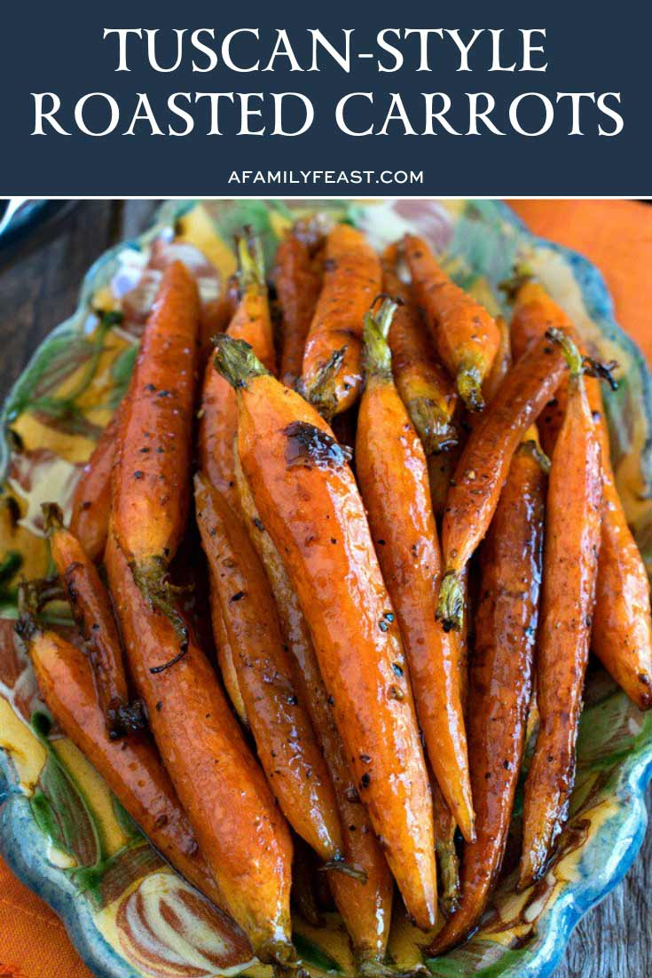 Tuscan-Style Roasted Carrots