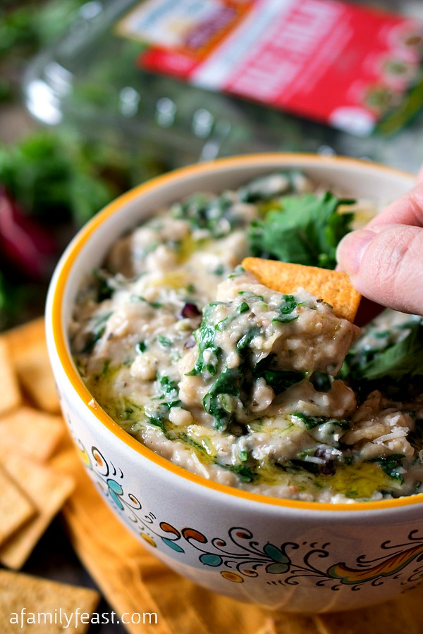 White Bean and Kale Dip - An easy and delicious dip with incredible ...