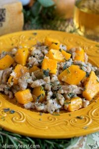 Whole Wheat Spaetzle With Butternut Squash - A Family Feast