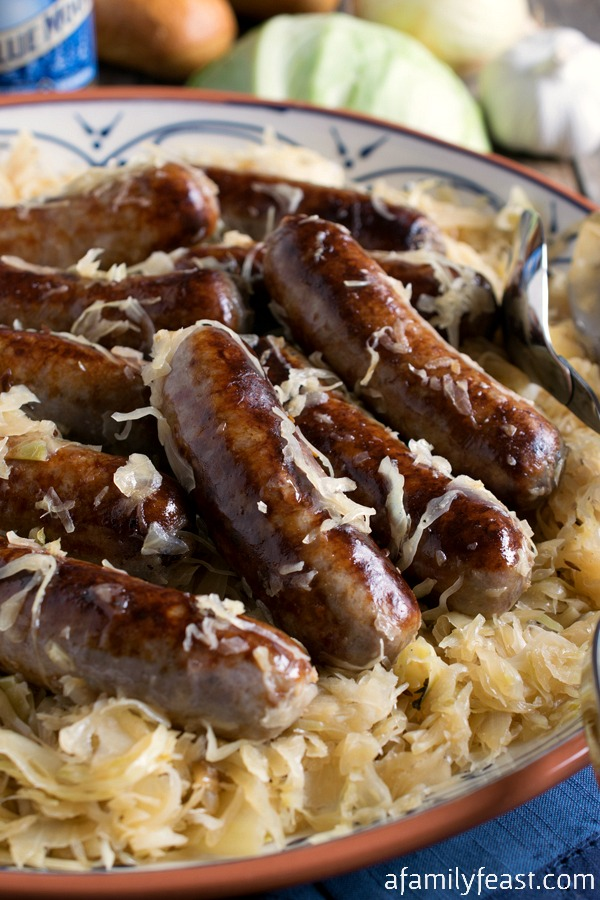 recipe: german bratwurst and sauerkraut recipe [31]