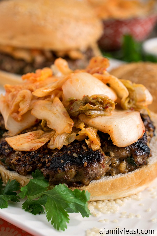 Asian Burgers - A Family Feast