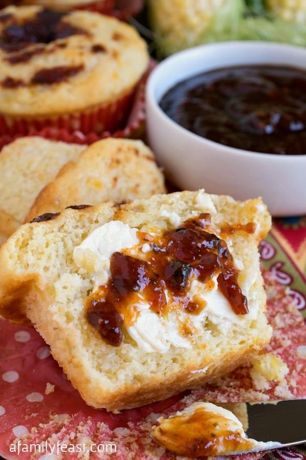 Buttermilk Corn Muffins - A Family Feast